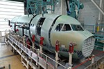 Airbus starts the assembly of its first A321XLR front fuselage